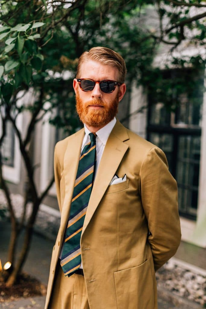 Olof Nithenius style influencer talks to Whitehouse Cox