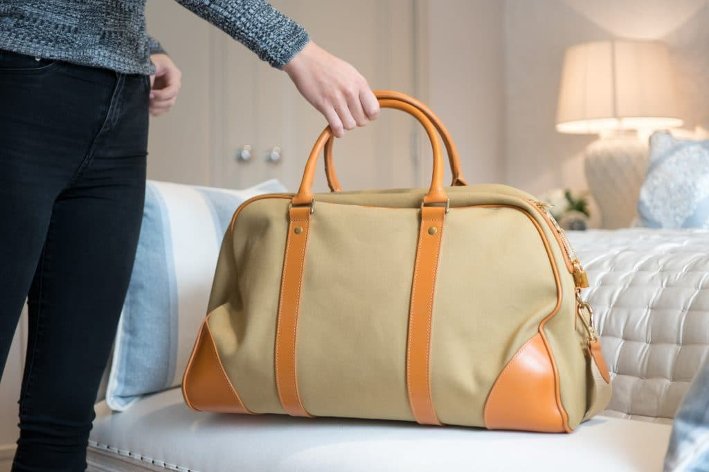 Styling the Mountbatten Holdall