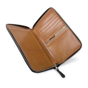 luxury leather accessories handmade in England