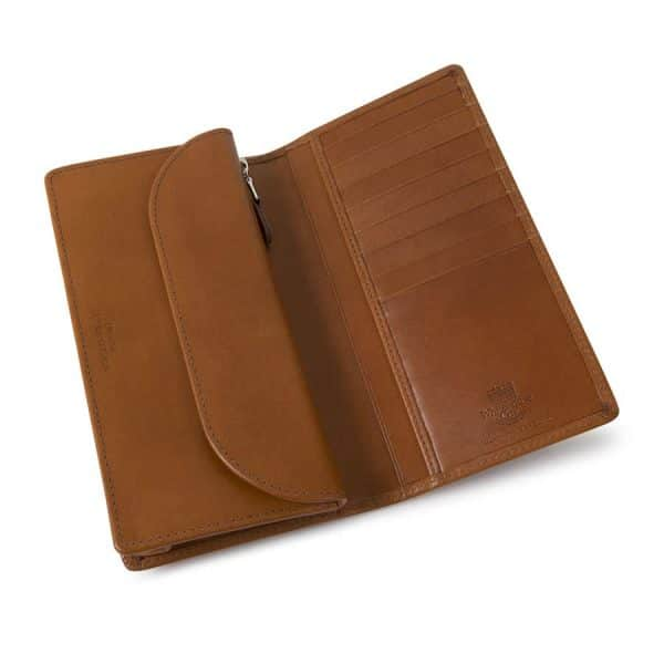 Luxury leather goods handmade in England, exploring the difference between bridle and saddle leather