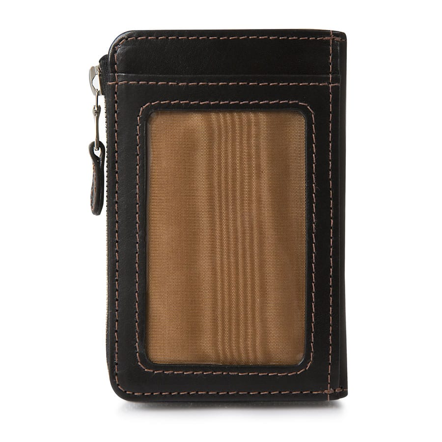 Perfect accessories for luxury travellers- the Whitehouse Cox Small Coin Purse Pass Case