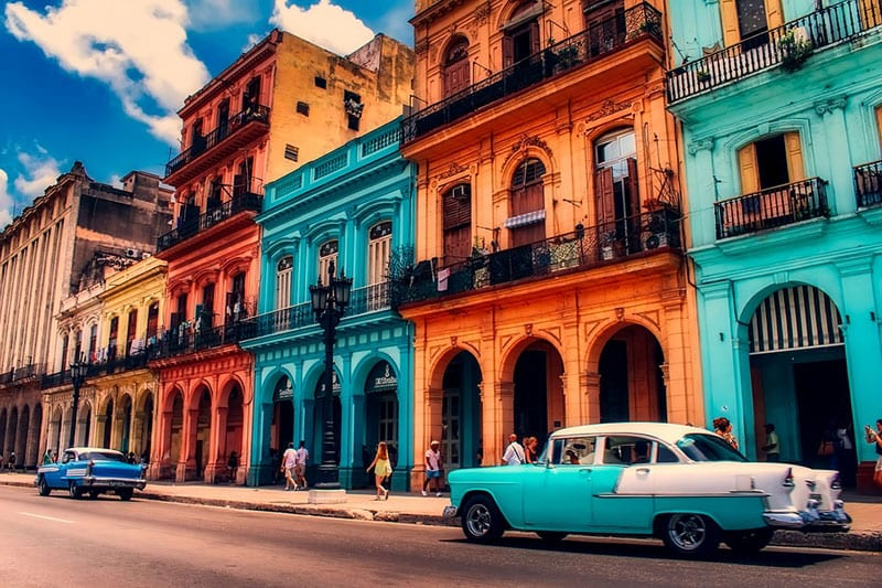 three stylish cities - havana