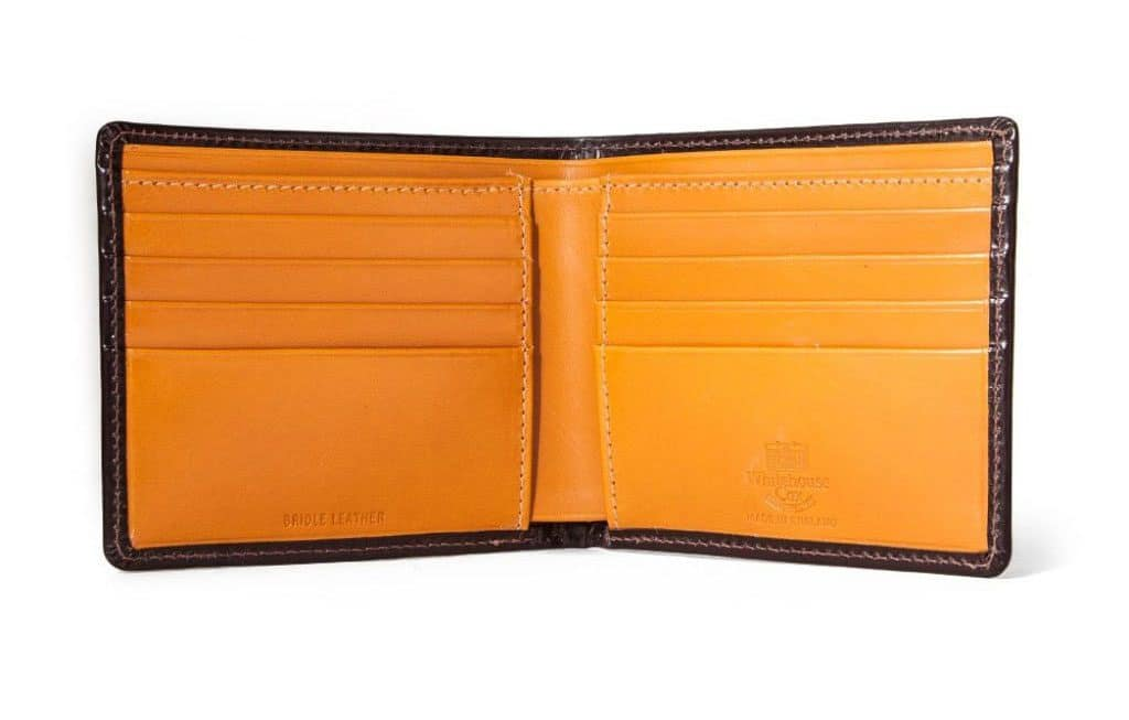 handmade in england luxury leather goods for gentleman's fashion