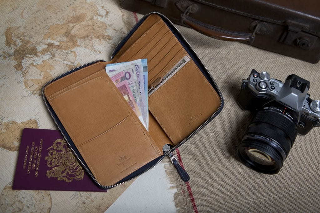 Whitehouse Cox truly British luxury leather goods with a global appeal