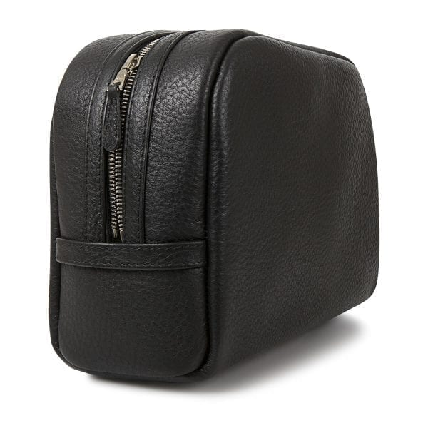 Black quality wash bag in men's Valentine's Day gift guide