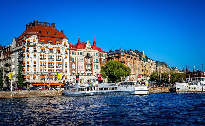 Stockholm three stylish cities